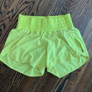 Lululemon shorts - wide elastic band